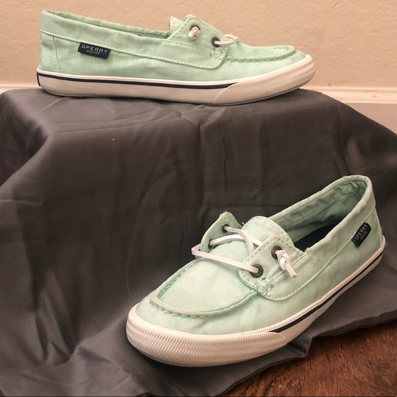 Brand New Oasis Canal Canvas Boat Shoe